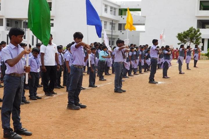 Adharsh Vidhyalaya Public School-Sports day