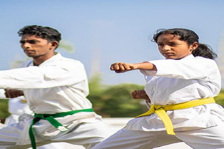 Adithya International School-Karate
