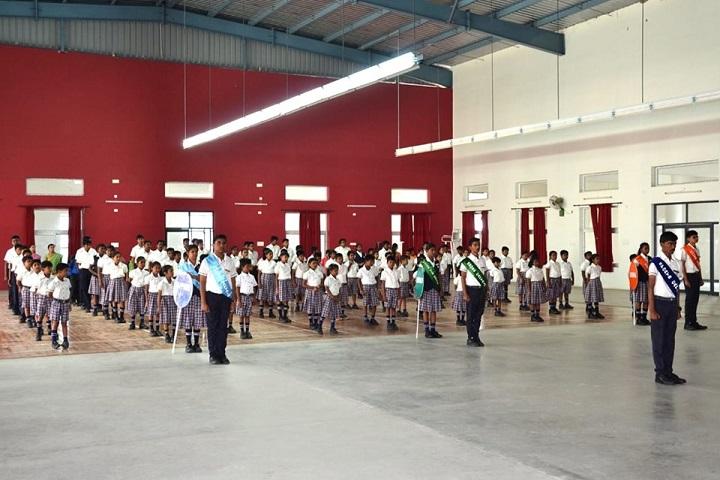 Adithya International School-Assembly