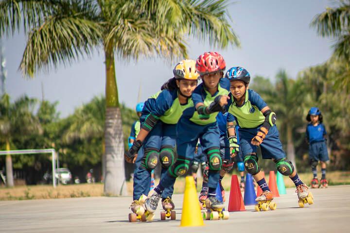 Adithya International School-Skating