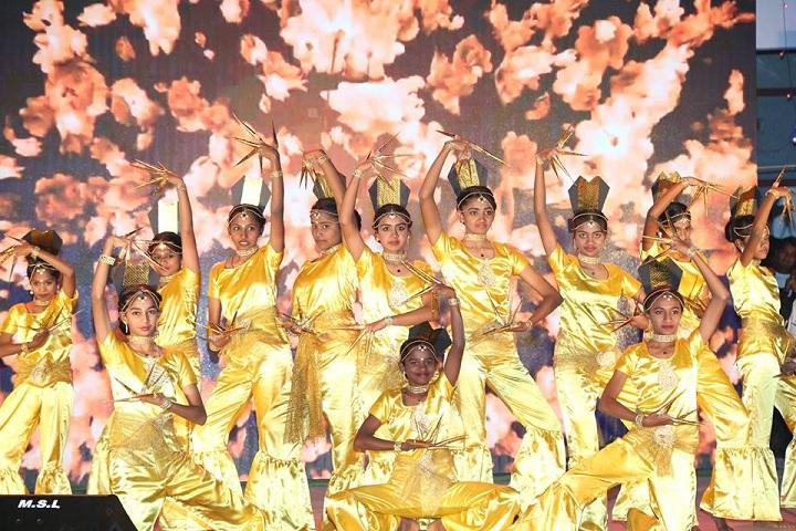 Advaith International Academy- Dance on Annual  Day Function