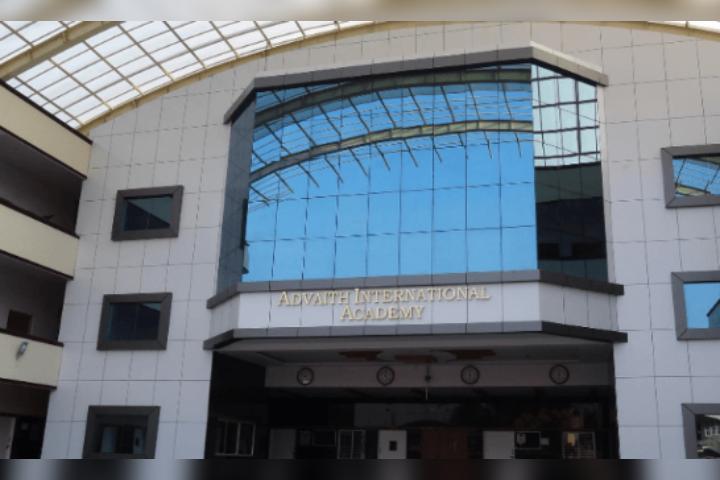 Advaith International Academy - School Front View