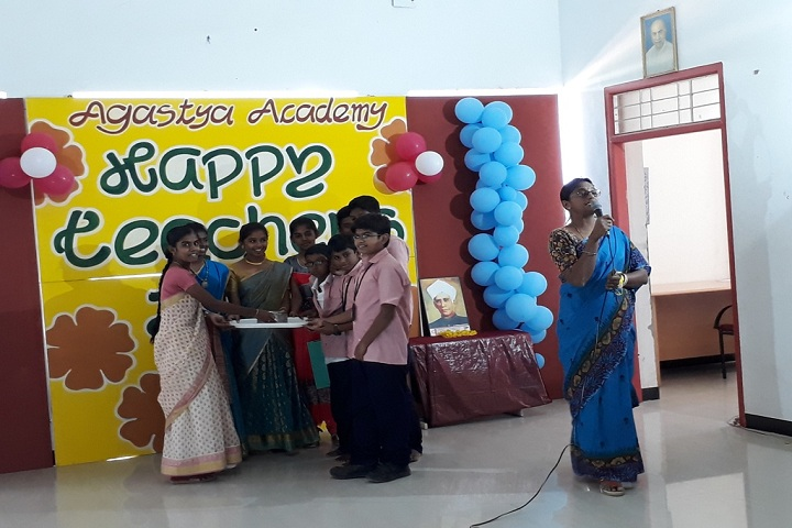 Agastya Academy-Teachers day