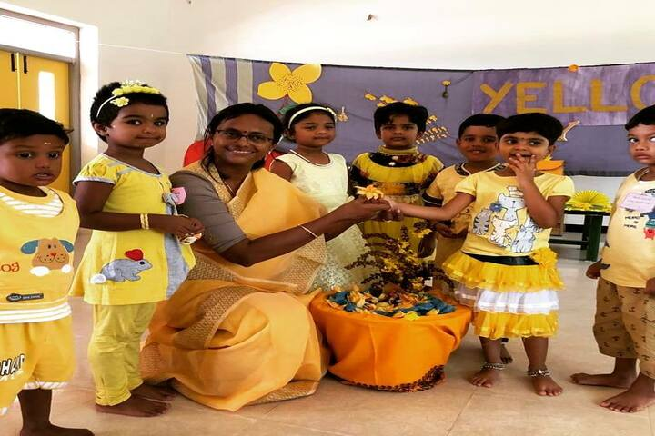 Agastya Academy-Yellow Day
