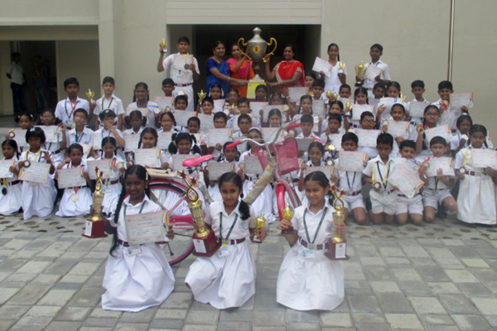 Agurchand Manmull Jain School-Awards