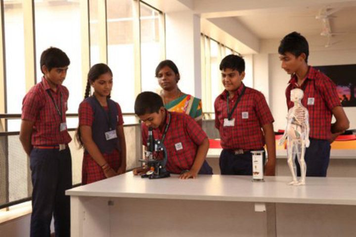 Agurchand Manmull Jain School-Biology Laboratory