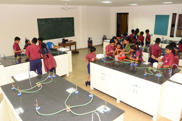 Agurchand Manmull Jain School-Chemistry Laboratory