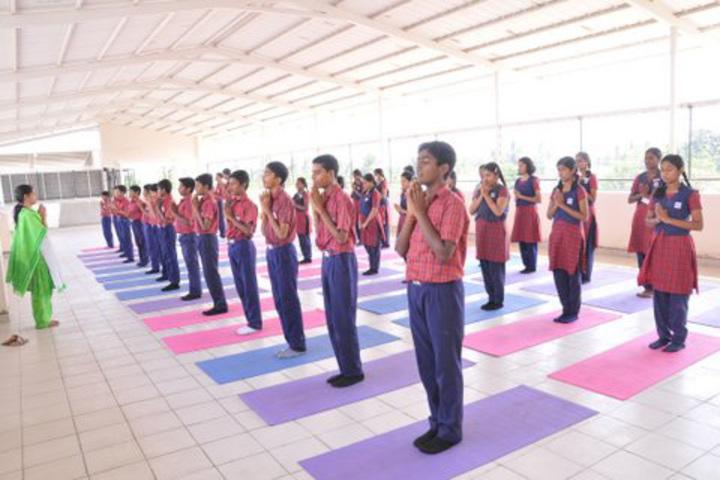 Agurchand Manmull Jain School-Yoga