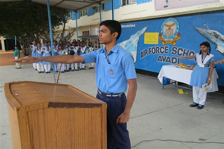 Air Force School-Consitution day