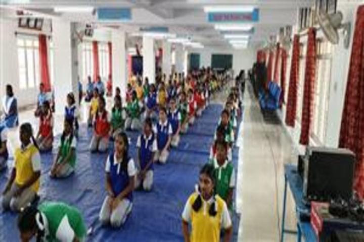 Air Force School-Yoga