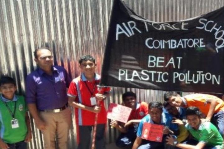 Air Force School-Eco Club