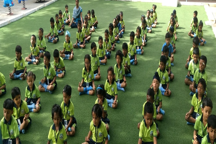 Air Force School-Yoga Activity
