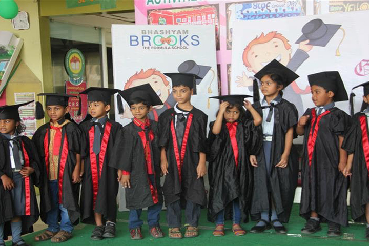 Bhashyam Blooms The Global School-Gradutation Day