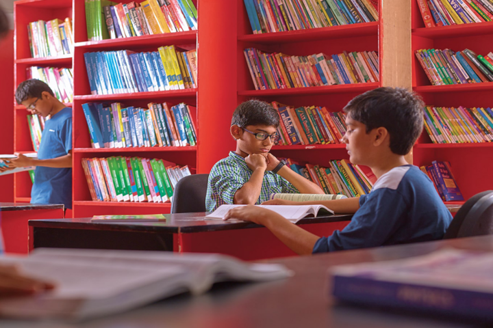 Bhashyam Blooms The Global School-Library