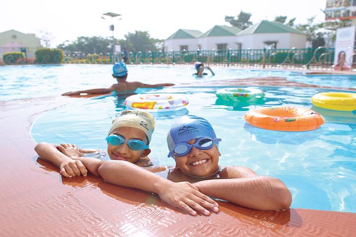 Bhashyam Blooms The Global School-Swimming