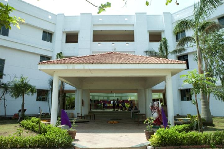 Akshara Vidyaashram-Campus Entrance view