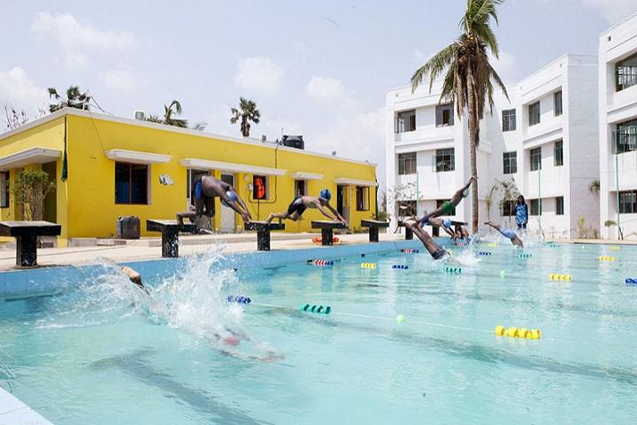 Akshara Vidyaashram-swimming pool