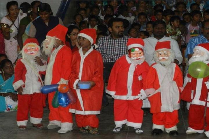 Akshaya Academy Cbse School-Christmas