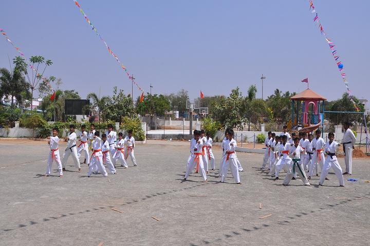 Akv Public School-Karate