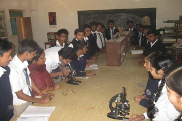 Navyug Vidyalaya-Biology Lab