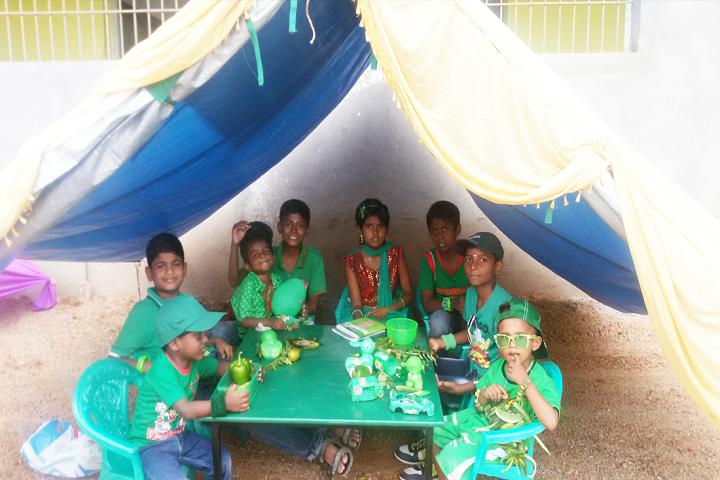 All India Modern School-Green day