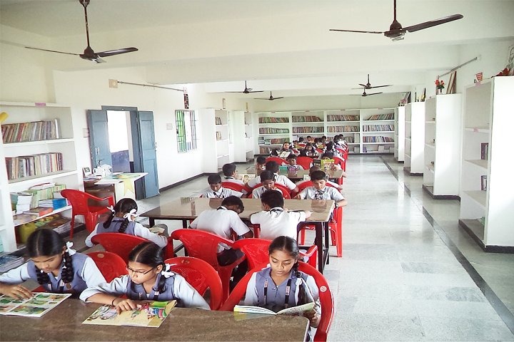 All India Modern School-Library