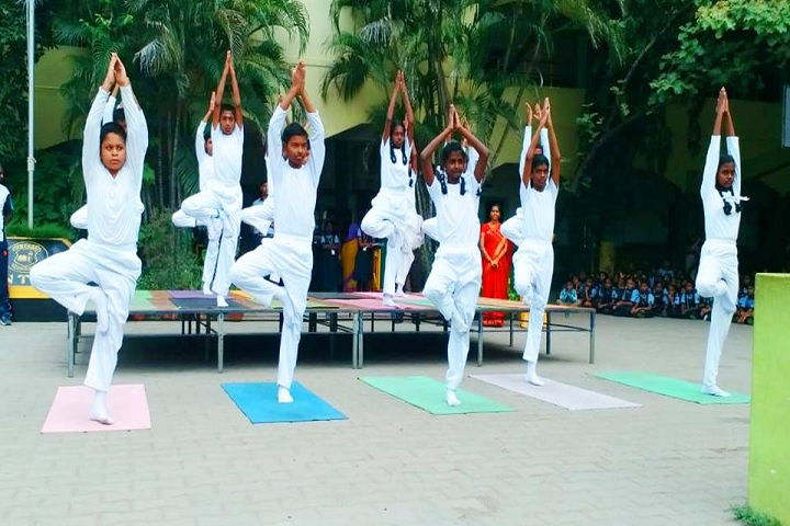 Alwin Memorial Public School-Yoga