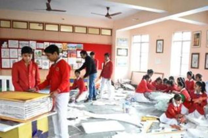 Nazareth Academy-Art Room