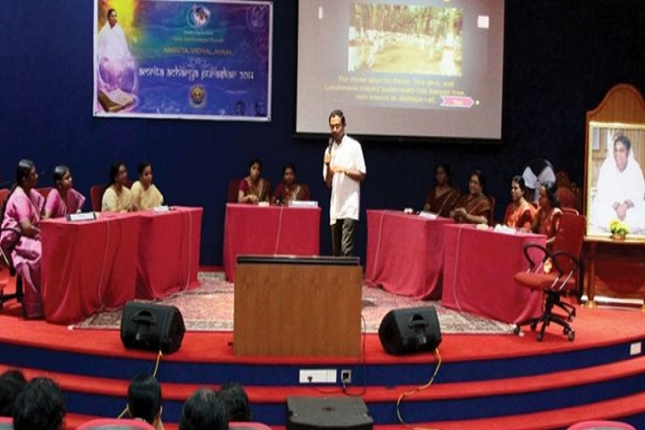 Amrita Vidyalayam-Meeting