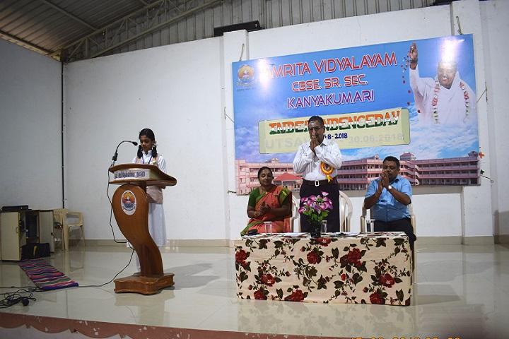 Amrita Vidyalayam-Speaker