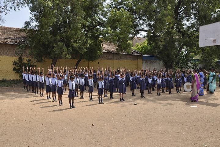 Angappa Educational Trust Senior Secondary School-Assembly