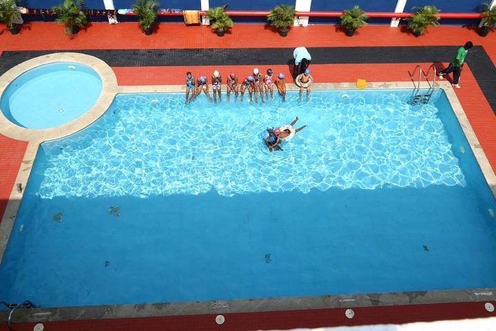 Annai Violet International School-Swimming pool