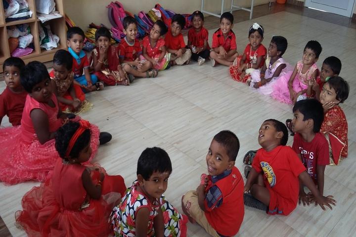 Anugragha International School-Red day