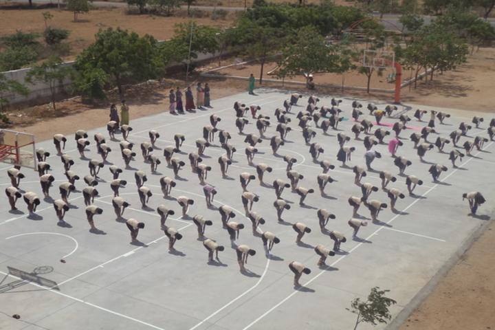 Anugragha International School-Yoga