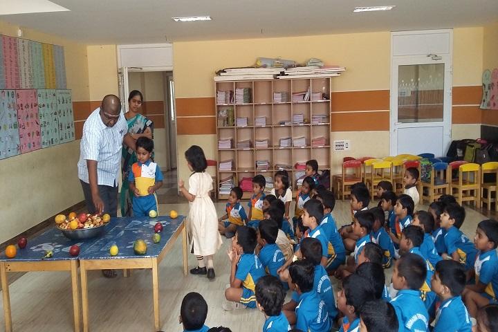 Anugragha International School-Blue Day