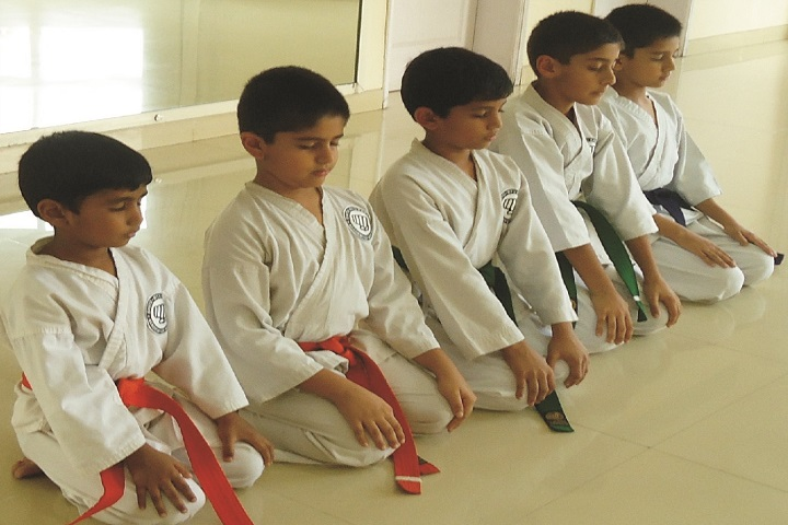 Anugragha International School-Karate