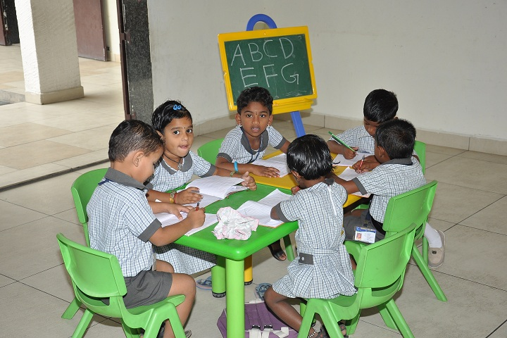 Anuvrat Vidhyalaya School-Classroom