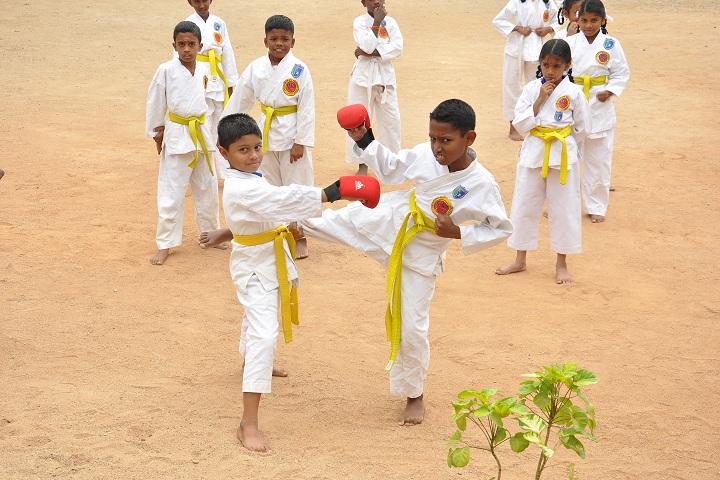 Anuvrat Vidhyalaya School-Karate