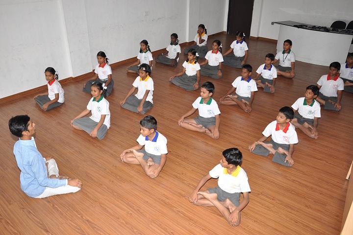 Anuvrat Vidhyalaya School-Yoga