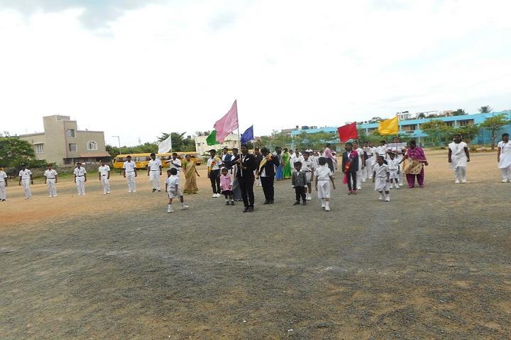 Apex Pon Vidyashram-Sports day