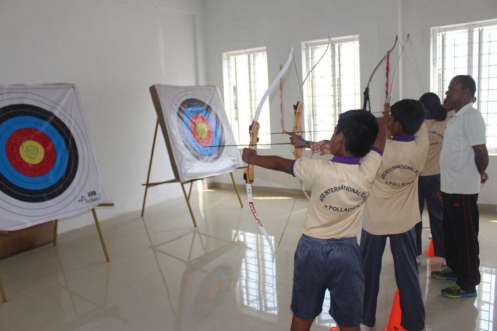 Arb International School-Rifle shooting