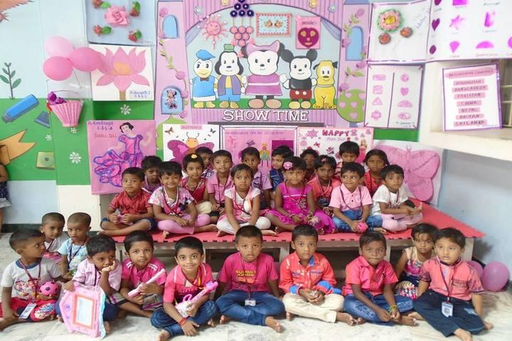 Aristo Public School-Pink day