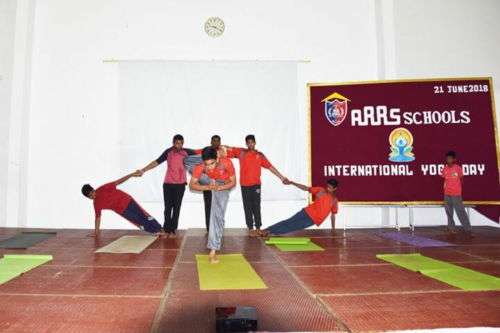 ARRS Schools-Yoga Day