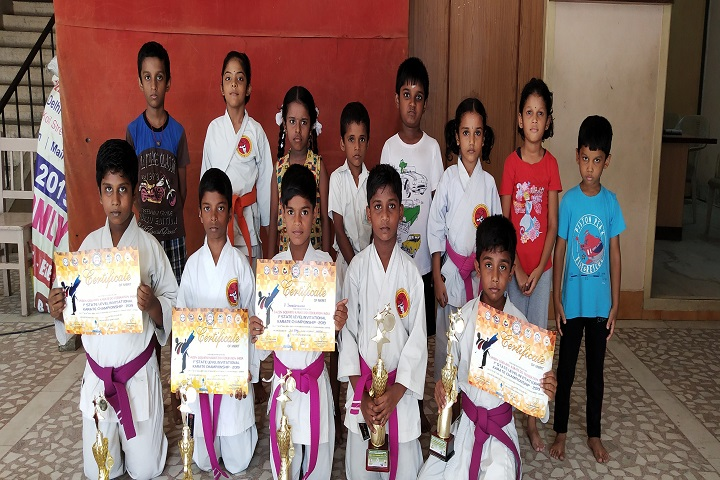 Arulmigu Meenakshi Amman Public School-Karate Winners