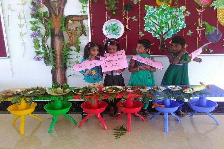 Arya Vidhyasshram International Residential School-Green day