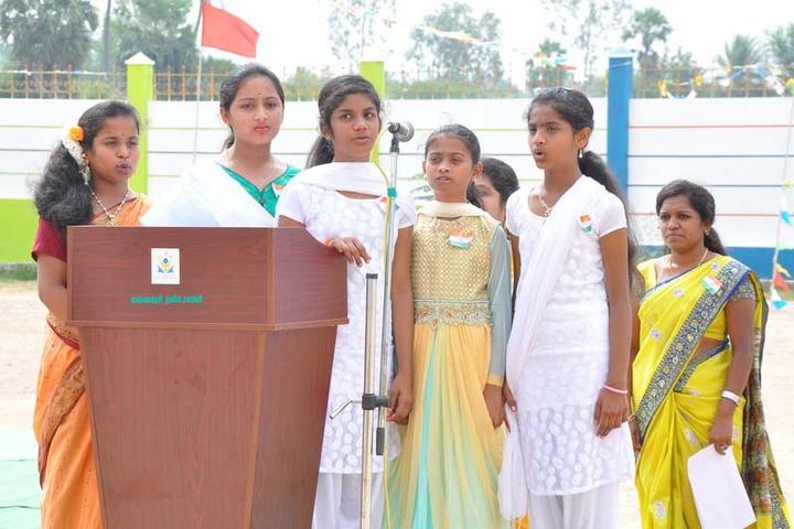 Arya Vidhyasshram International Residential School-Republic day