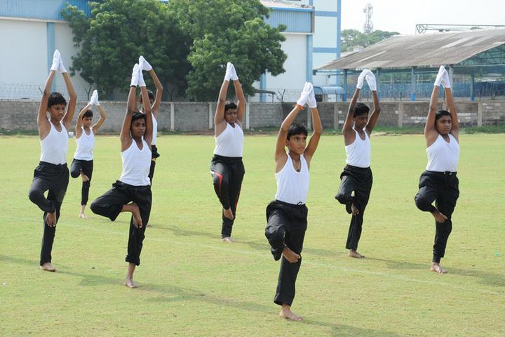 Asan Memorial senior secondary School-Yoga