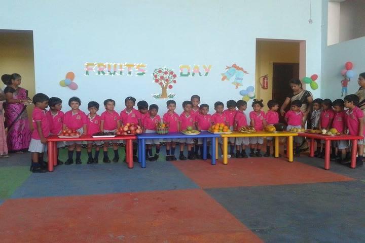 Atlantic International School-Fruits day