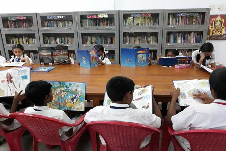 Atomic Energy Central School-Library