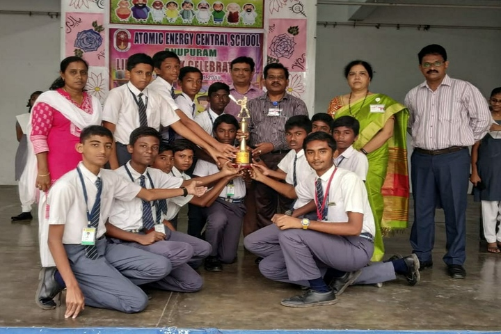 Atomic Energy Central School-Prize Distribution